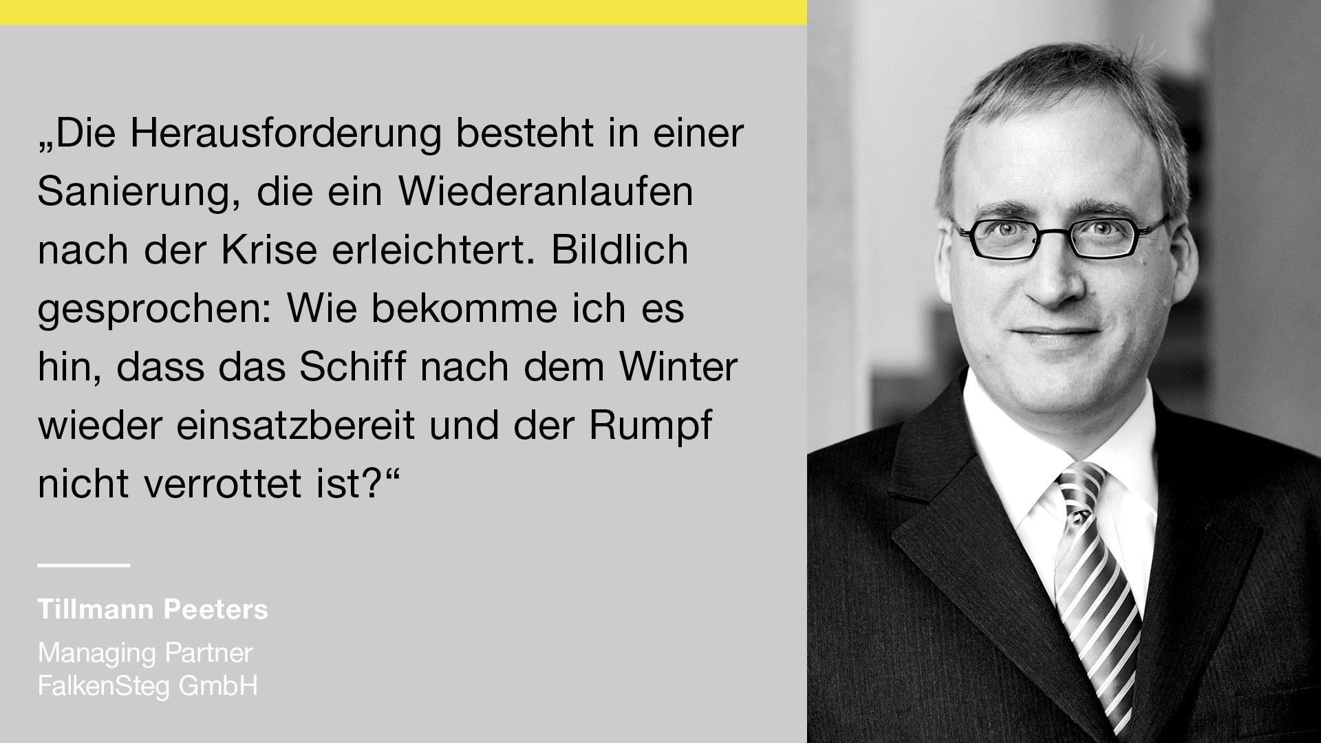 Falkensteg-Starug-Saninsfog-Restrukturierung-Sanierungskonzept-duesseldorf-Frankfurt- DAA_SoMe_3Fragen Tillmann Peeters